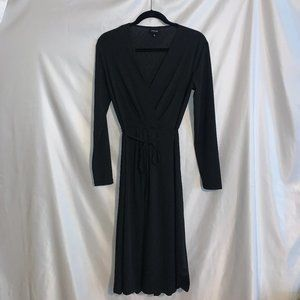 Who What Wear Sz S Black Dress